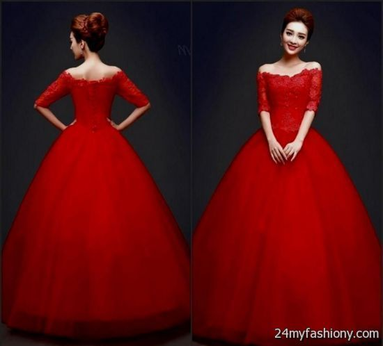 Ball Dresses with Sleeves