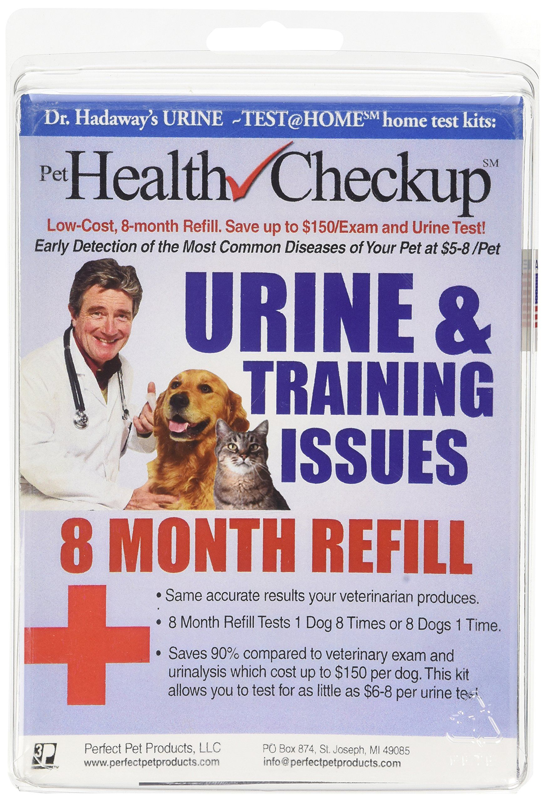 Pet Health Urine Test Kit 8 Month Refill For Urine Infections Diabetes Pet Disease Urinating In Home Or Other Training Problems Pet Health Pet Health Care Pets