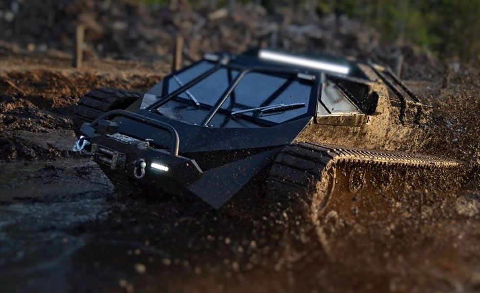 The Ripsaw EV Is A Drifting And Jumping Tank Cars Car Vehicle - Cool cars jumping