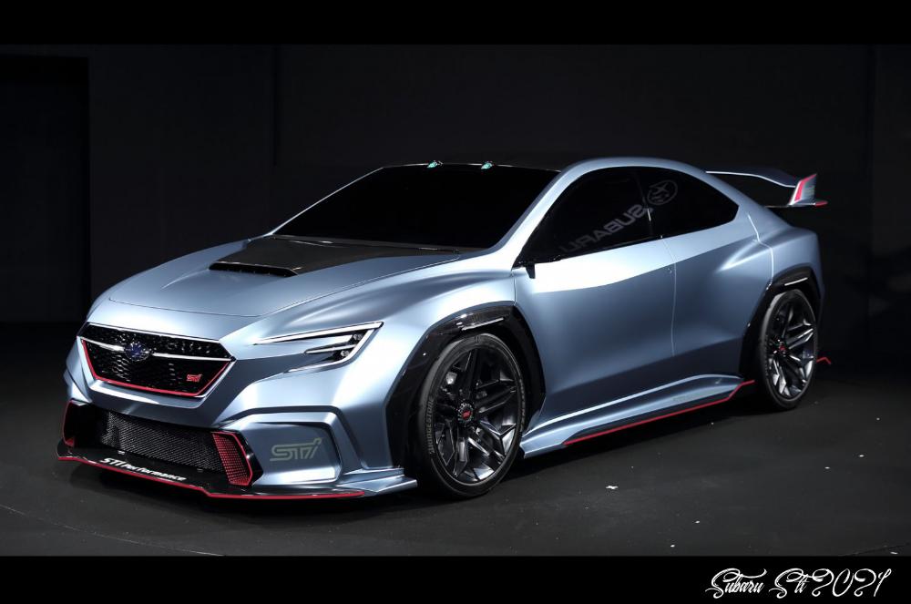 Next Subaru Wrx Sti Could Get 8 Horsepower And Amg Inspiration