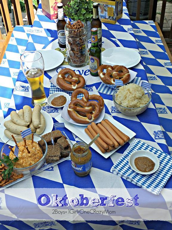 Celebrating Oktoberfest with an Authentic Bavarian Cheese Beer Spread #Recipe an #octoberfestfood
