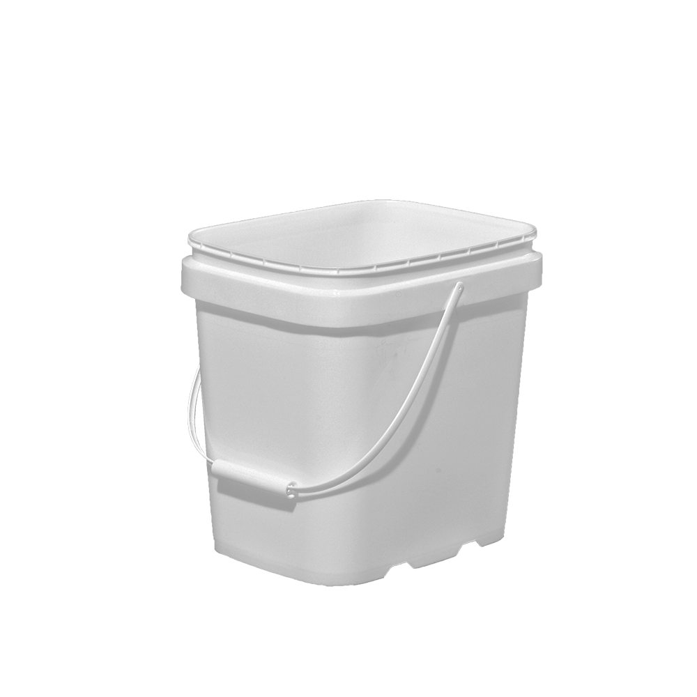 Illing Part 3e027 2 Gallon White Hdpe Ez Stor Pail W Handle Ez Stor Containers Are Available In An Assortment Of Sizes Colors And Pail Gallon Pail Bucket