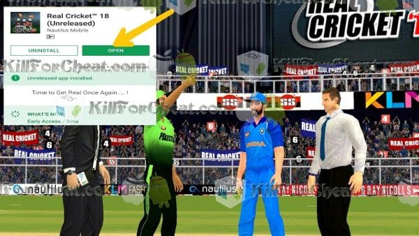 Real cricket 18 mod apk download for android | Real Cricket