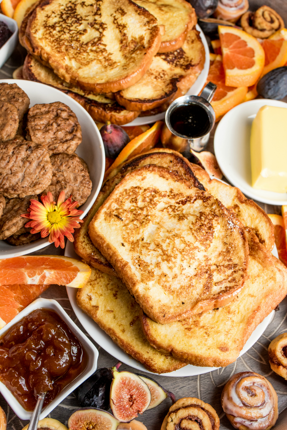 Fall French Toast Breakfast Board Reluctant Entertainer French Toast Breakfast French Toast Recipe Breakfast Breakfast Toast