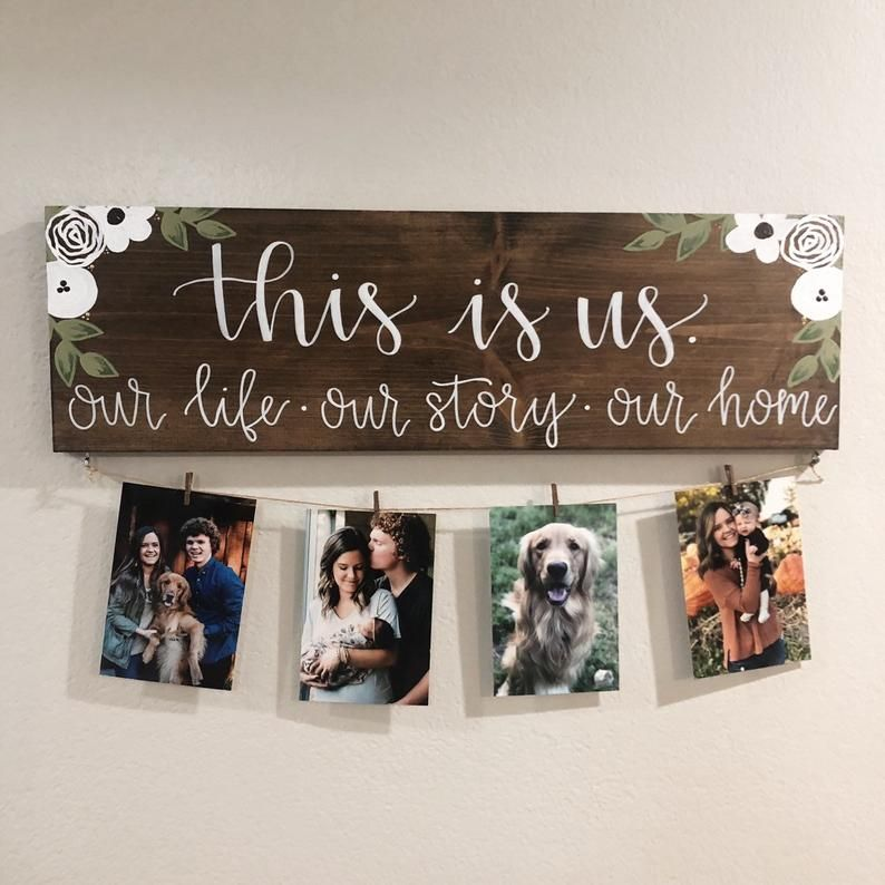 This Is Us Stained Solid 24x7.5