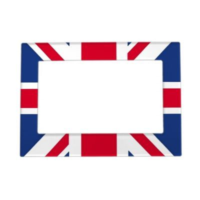 UK Flag Magnetic Photo Frame | Magnetic photo frames, Uk flag and Flags