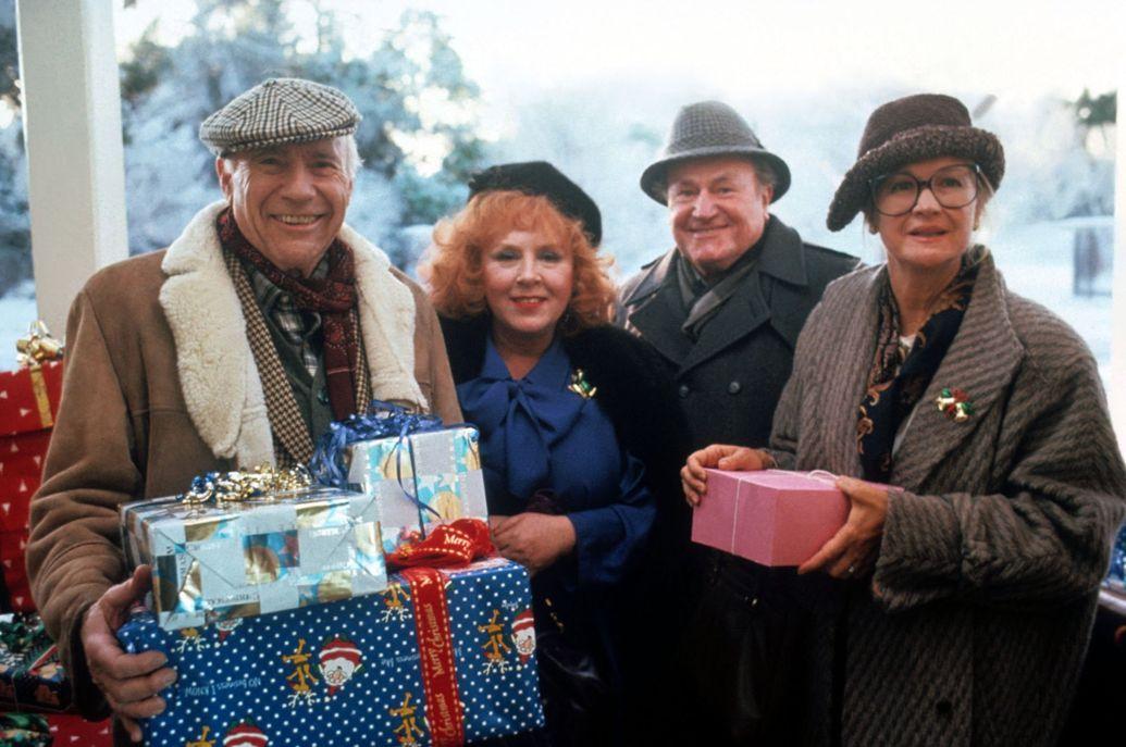 John Randolph Doris Roberts E G Marshall And Diane Ladd In National Lampoons Christmas Vacation