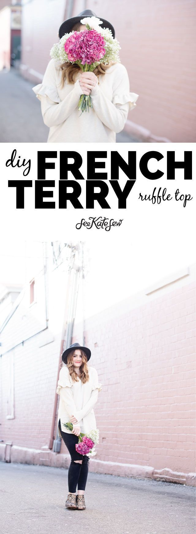 the Aquarius Top in French Terry | Creative Sewing | Pinterest ...