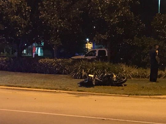 Deputies say Fort Pierce motorcyclist crashed bike after fleeing at over 100 mph  TCPalm