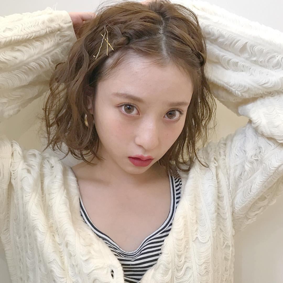 アサダマユコさんはinstagramを利用しています ゴールドピンはあるとなにかとアレンジに使えて れんちゃんアレンジ 女の子を100倍たのしむアレンジヘア ボブ