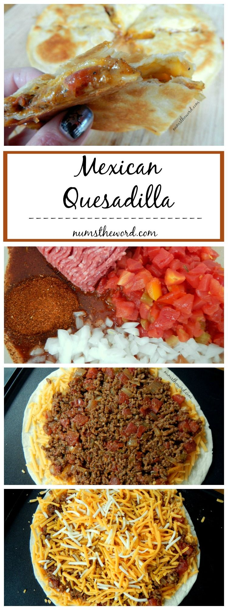 A tasty twist on the classic quesadilla, this Mexican Quesadilla is ...