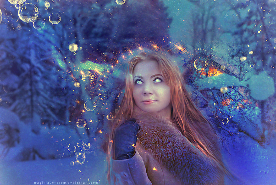 Bubbles by MagicLaDyCharm on DeviantArt