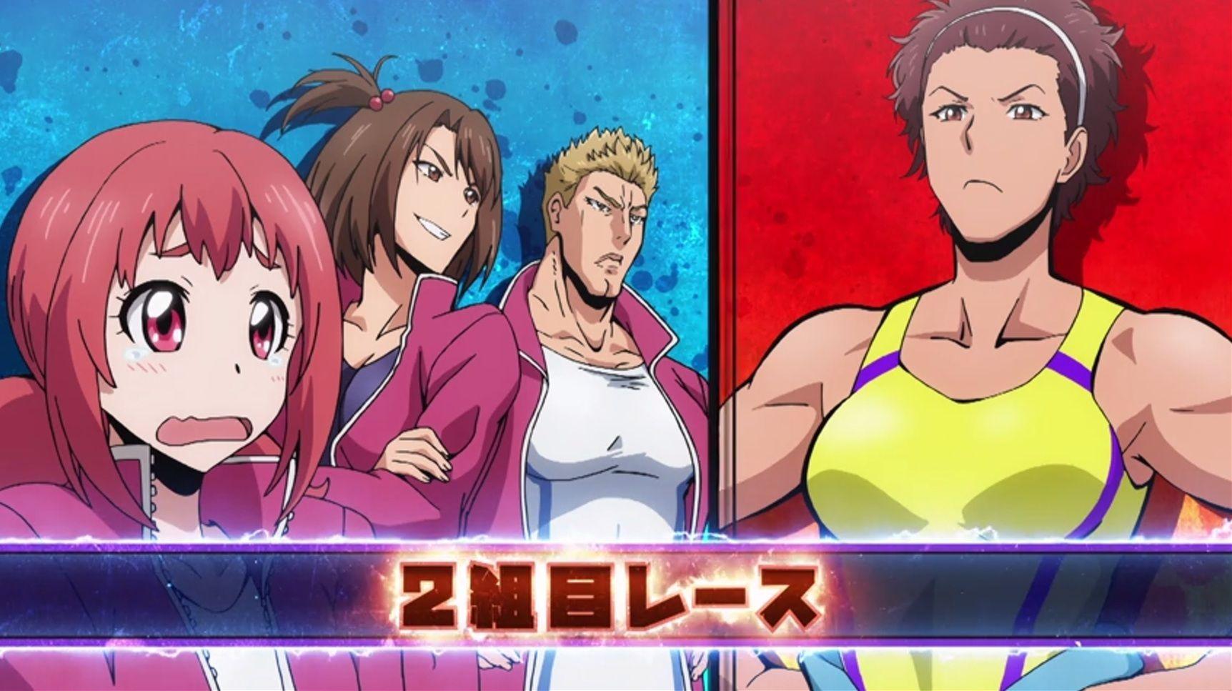 Non Toyoguchi Vs Atsuko Yoshida Keijo Anime Art Fantasy