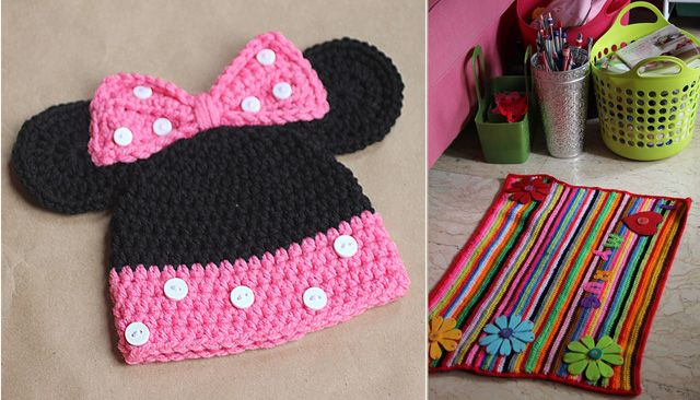 Knitted Minnie Mouse Hat Pattern Choice Image Knitting Patterns