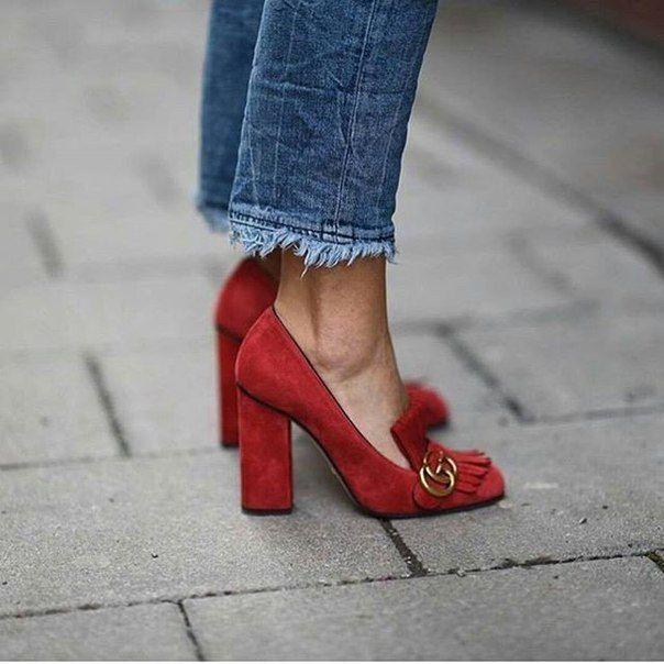 Chaussures printemps rouges Fashion femme 8H41M