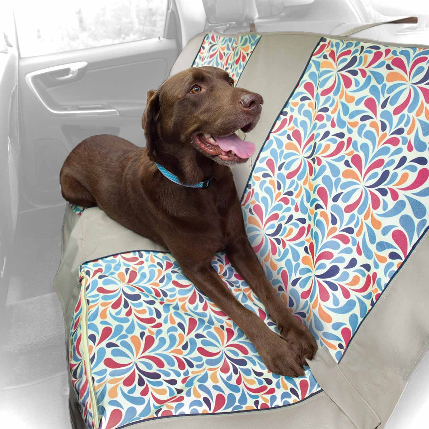 Kurgo Color Splash Bench Dog Car Seat Cover Protect Your From Wet Doggy