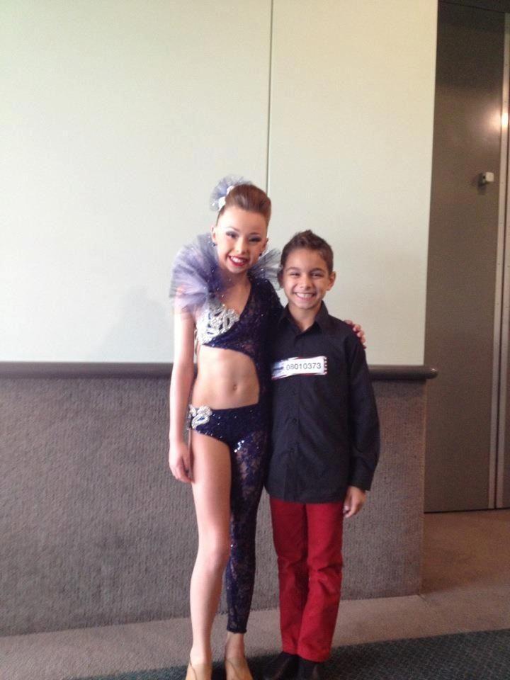 Sophia, soon to be new dancer on dance moms