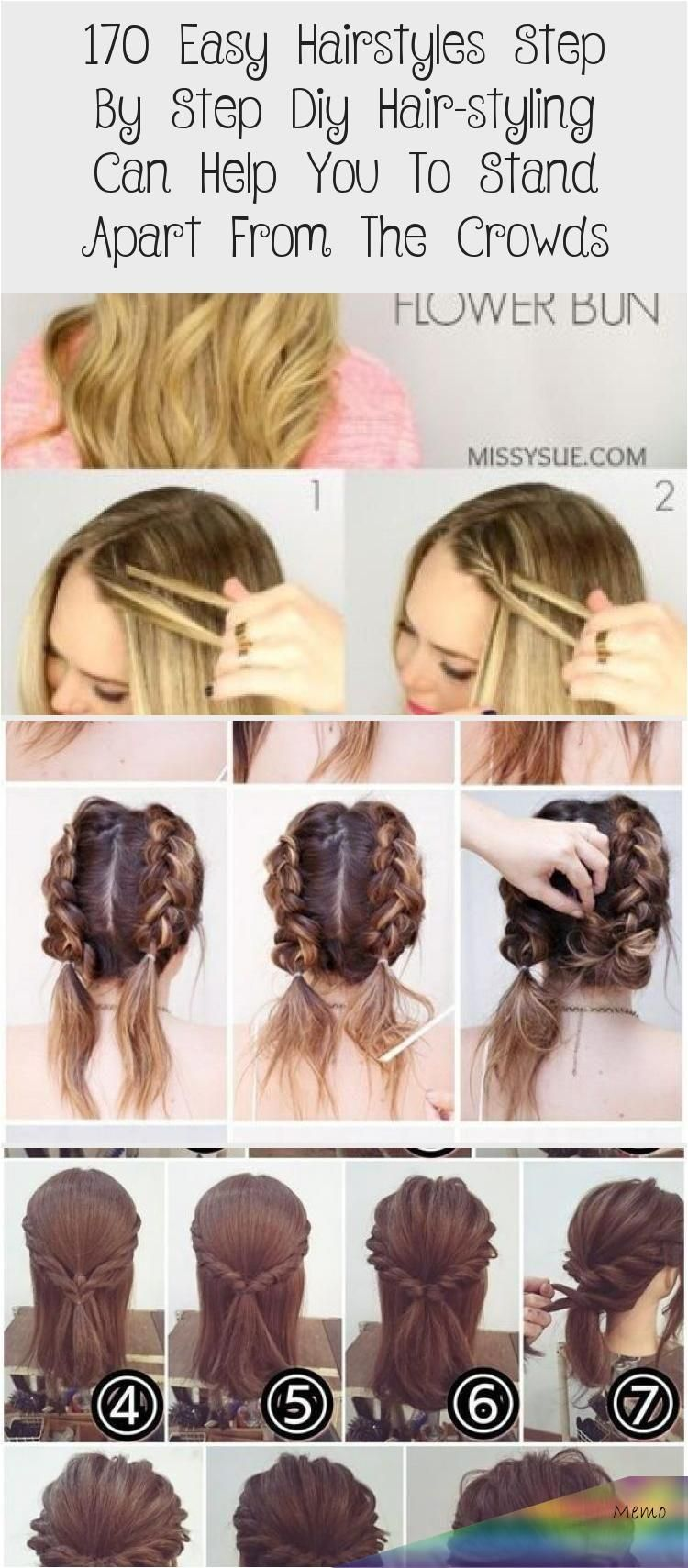 Apr 8 2020 170 Easy Hairstyles Step By Step Diy Hair Styling Can Help You To Stand Apart From The Crowds A Page 83 A My Beauty Note Blackhairtutorial V In 2020