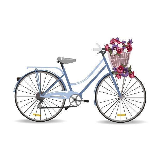 Diseño de bicicleta vintage Vector Gratis | рисунки | Pinterest ...