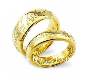 nice usa hot selling women umen us tungsten lord of rings wedding band - The One Ring Wedding Band