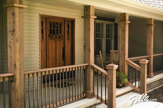 Wood Front Porch Wood Porch Ideas Let Deck Designs Of Create The