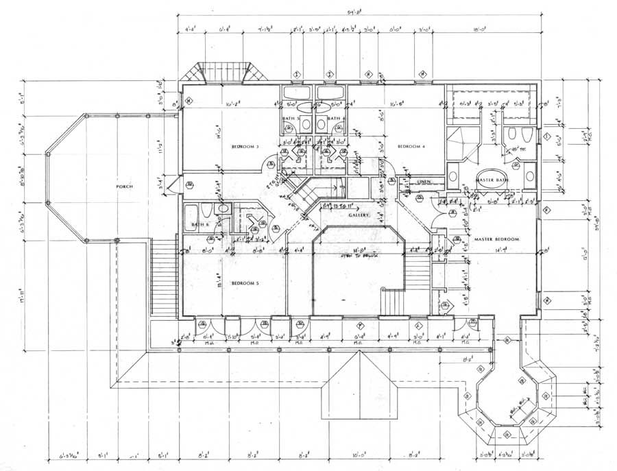 Victorian house layout floor plan cottage house plans for Bed and breakfast design plans