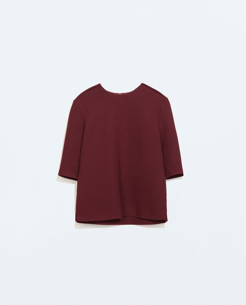 Image 5 of ASYMMETRICAL TOP WITH SIDE SLITS from Zara