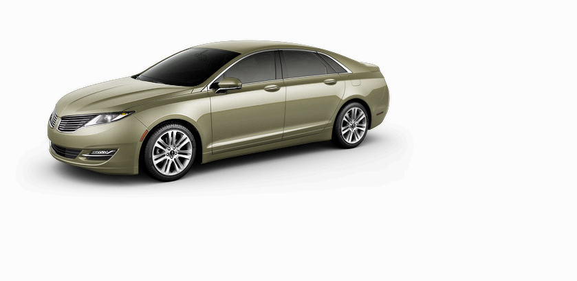 Introducing the Refreshingly New 2013 Lincoln MKZ Ginger