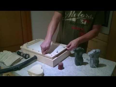 neu formen aus plastik f r beton gips oder keramik jetzt ganz einfach selber machen youtube. Black Bedroom Furniture Sets. Home Design Ideas