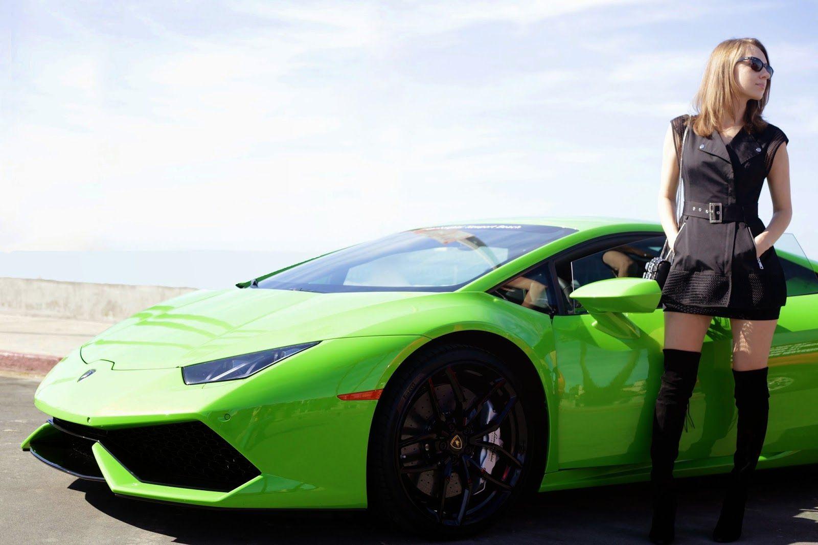 Futuristic Glam With Lamborghini Huracan