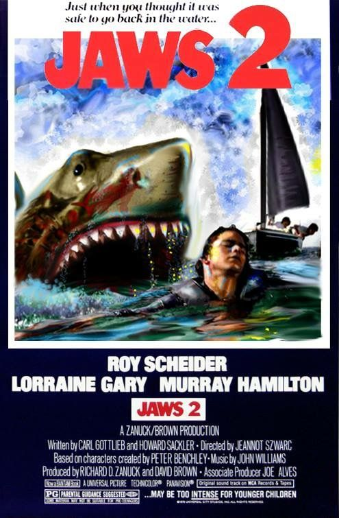 Jaws 2........... | Monster Board In 2019 | Jaws Movie ...