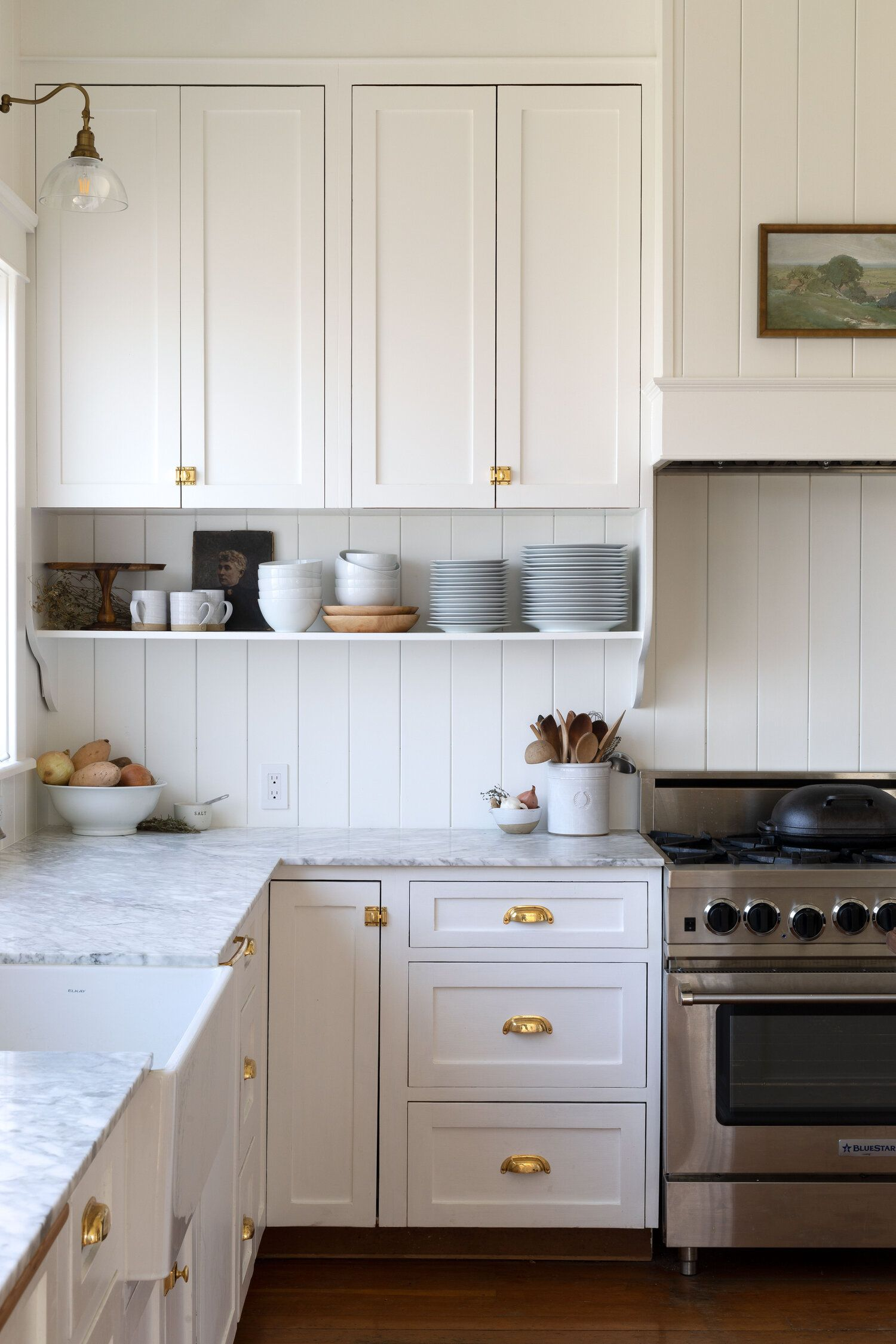 Photo of Our Best Tips for Styling Open Shelves in the Kitchen — The Grit and Polish