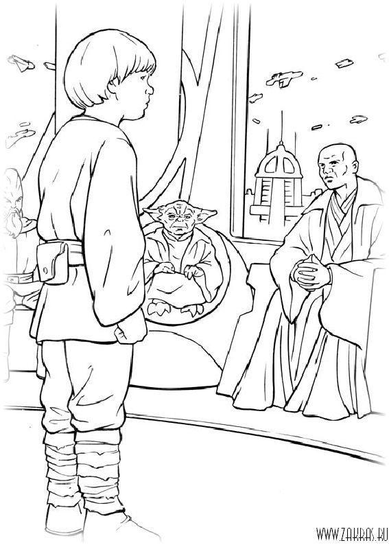 Звездные войны (Star Wars) - раскраски (147 шт.) (с ...