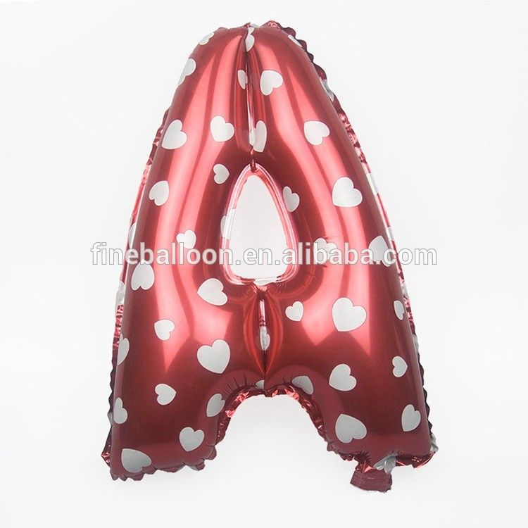 Letters In Latex%0A    inch inflatable alphabet foil balloons English letter balloons