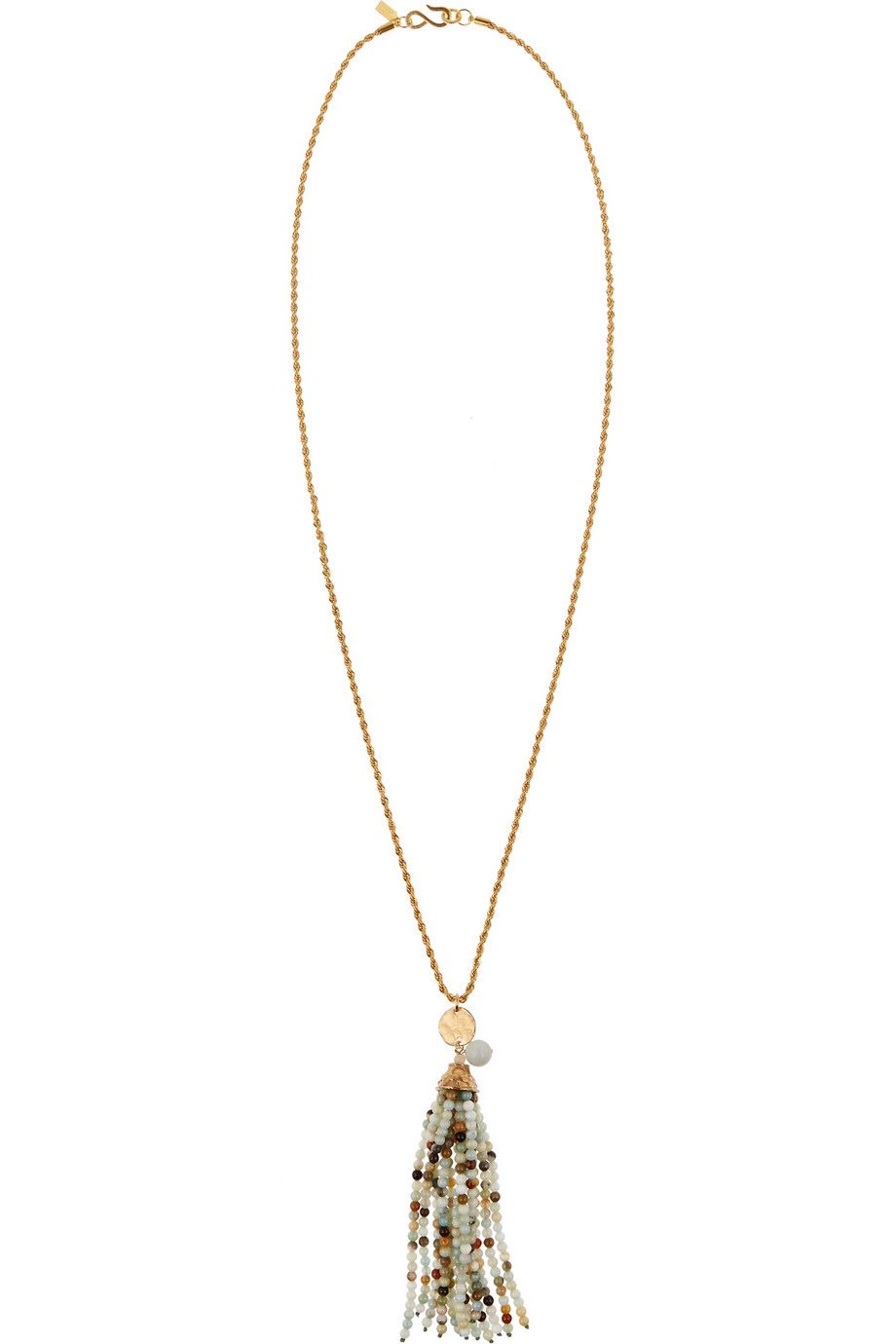 KENNETH JAY LANE Gold-plated beaded necklace €110.00 http://www.net-a-porter.com/products/573756
