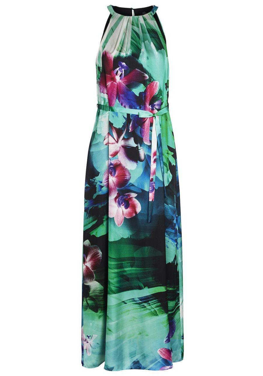 Clothing at Tesco | F&F Signature Floral Print Maxi Dress > dresses ...