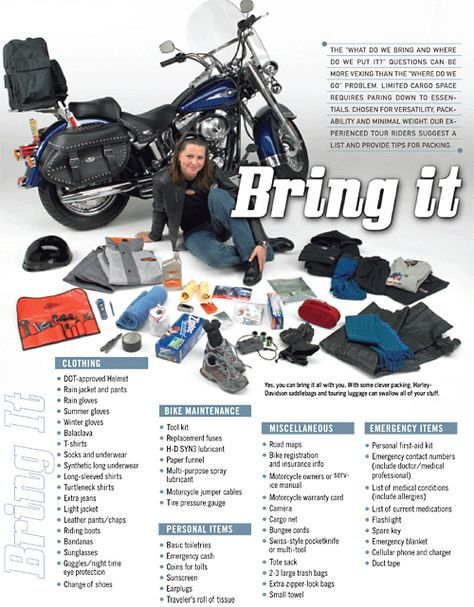 Photo of HD Recommends Things to Pack on a Long Motorcycle Trip – Motorcycle.com News