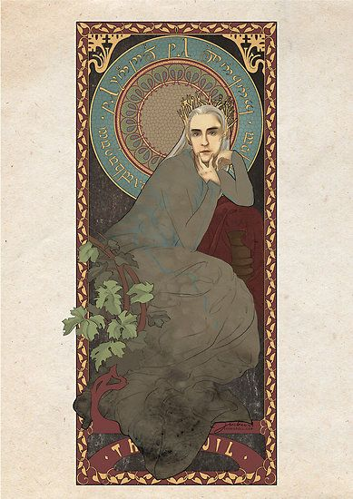 lord of the rings art nouveau - Google Search