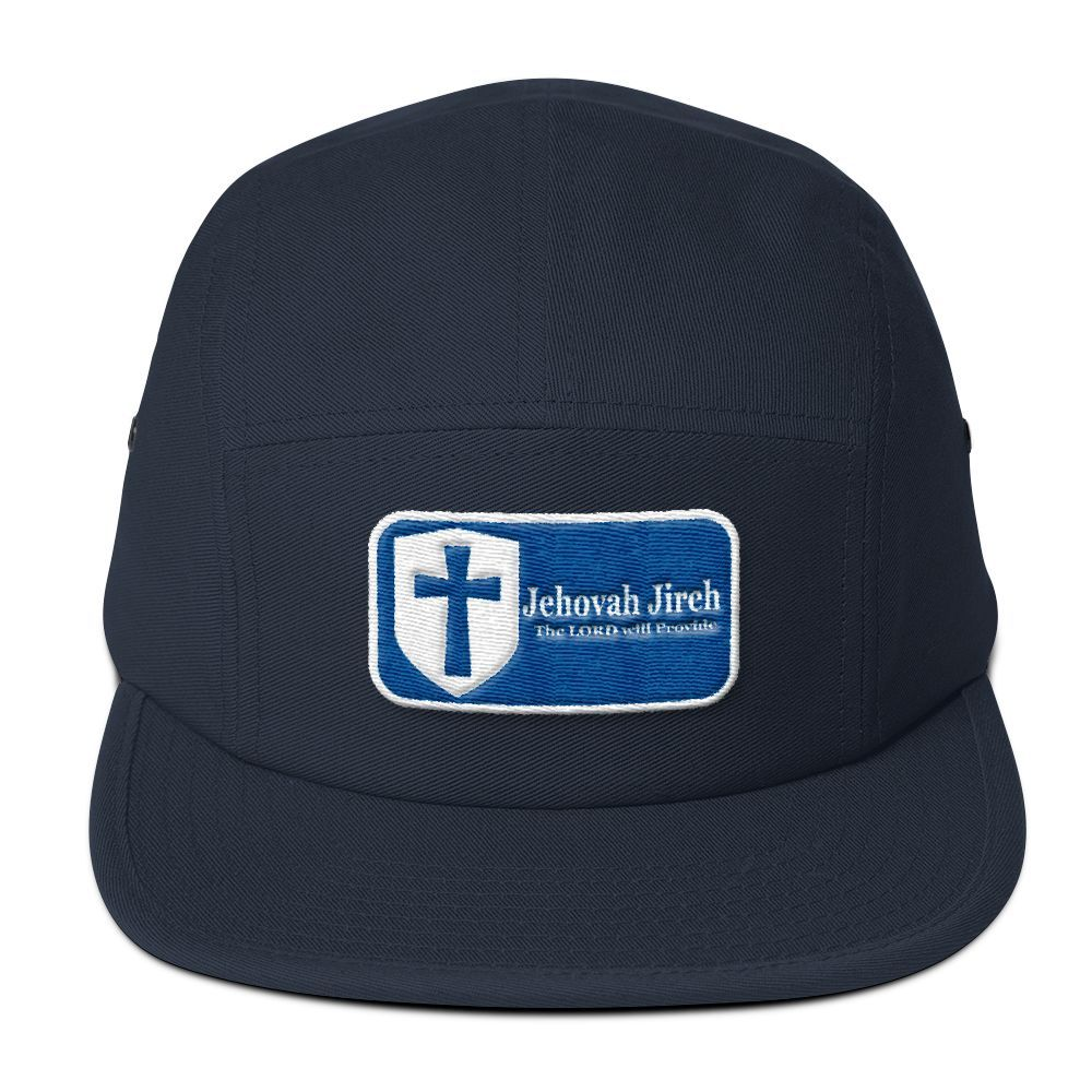 Five Panel Cap(3D Puff Embroidery) - Jehovah Jireh