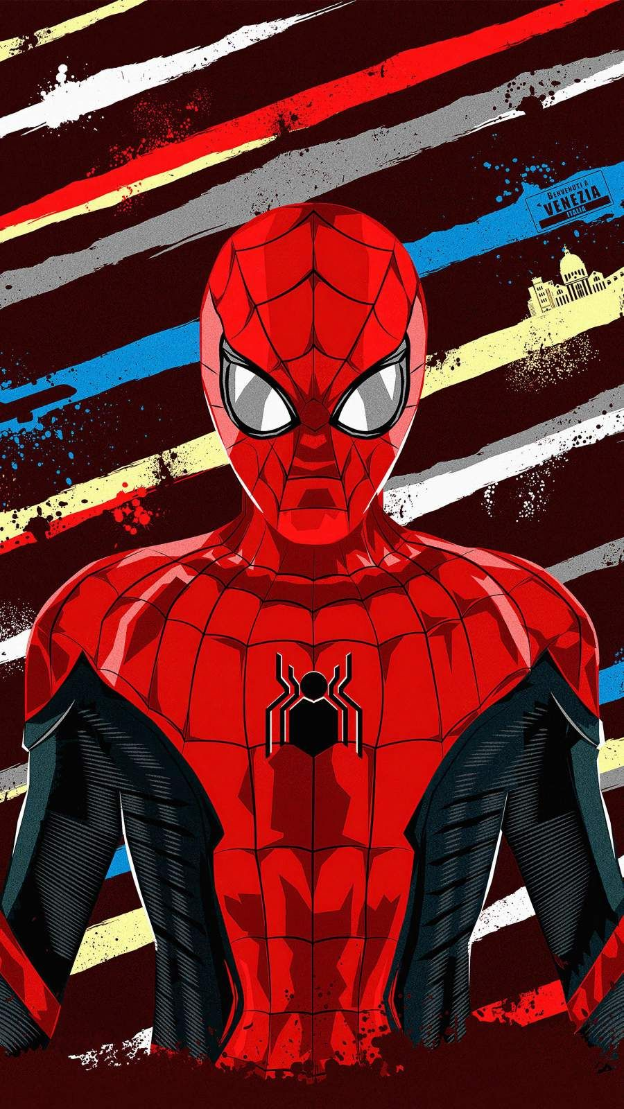 Spiderman Artwork Iphone Wallpaper Spiderman Artwork Spiderman Marvel Comics Wallpaper