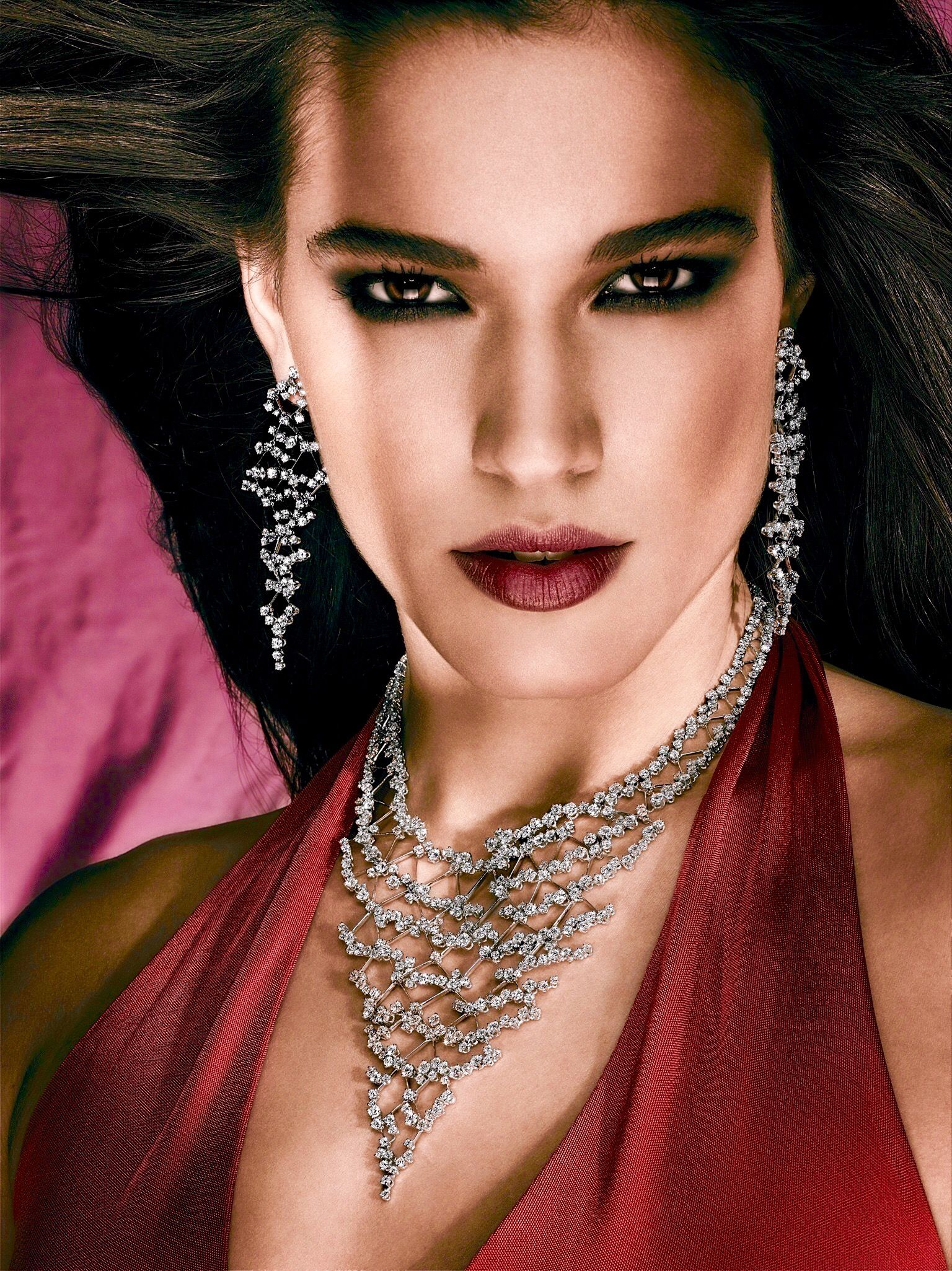 Rosendorff Indulgence Collection Diamond Necklace with Matching