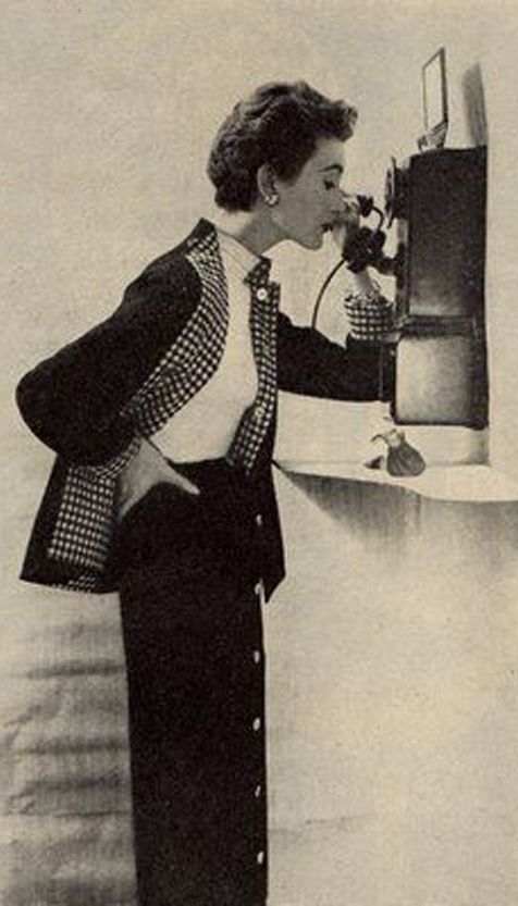 Hold the Phone . . . 1950's