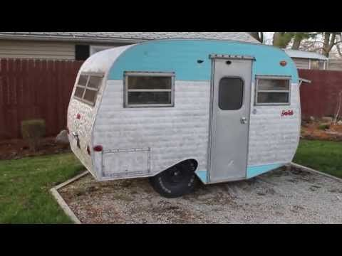 Serro scotty camper, 1976 - YouTube | Little trailers