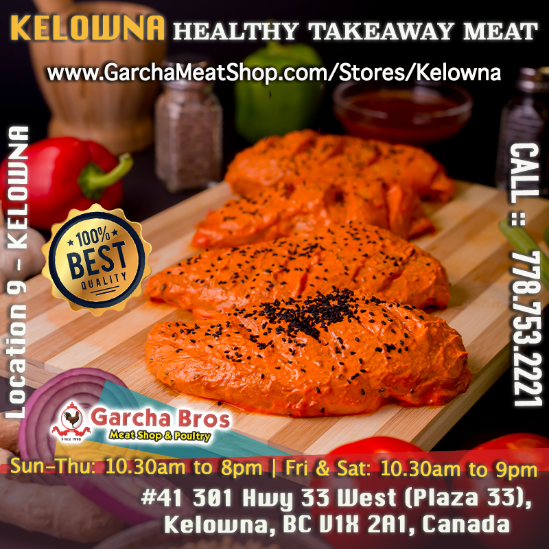 Fresh Takeaway Meat Kelowna / Healthy Meat Kelowna