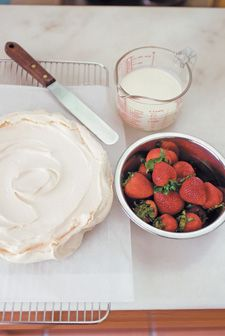 Pavlova recept (Jamie Oliver)