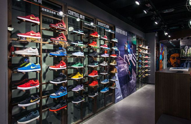 quite nice store high fashion Nike Profit Tops Estimates as North American Shoe Sales Gain ...
