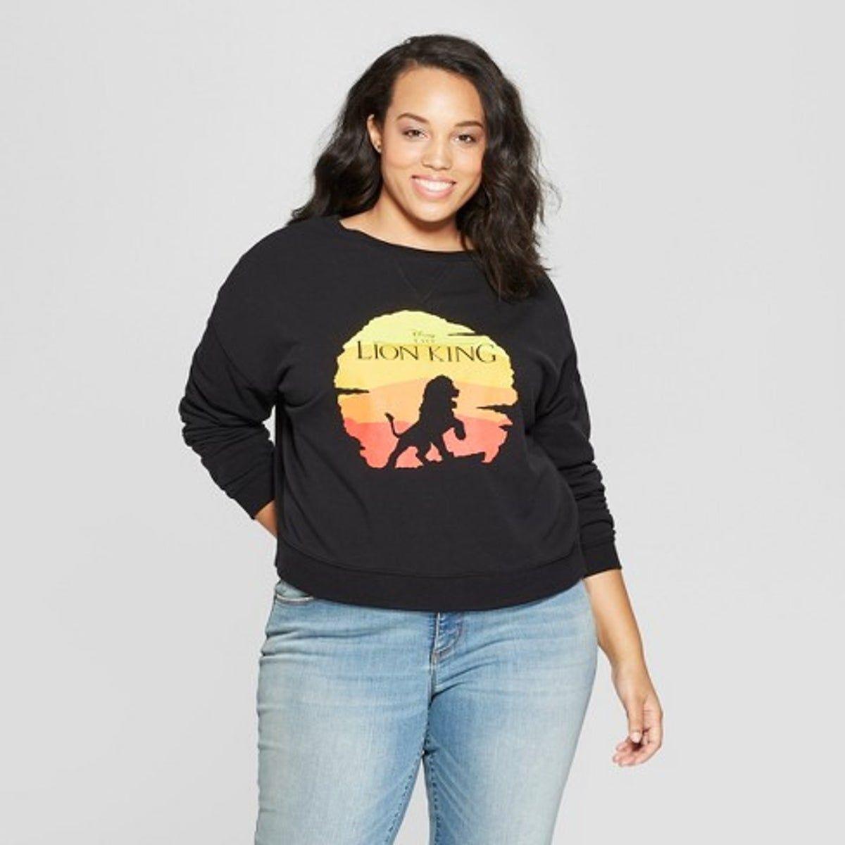 Disney The Lion King Black Sweatshirt Xl In 2021 Graphic Sweatshirt Plus Size Disney Outfits Plus Size Disney [ 1200 x 1200 Pixel ]