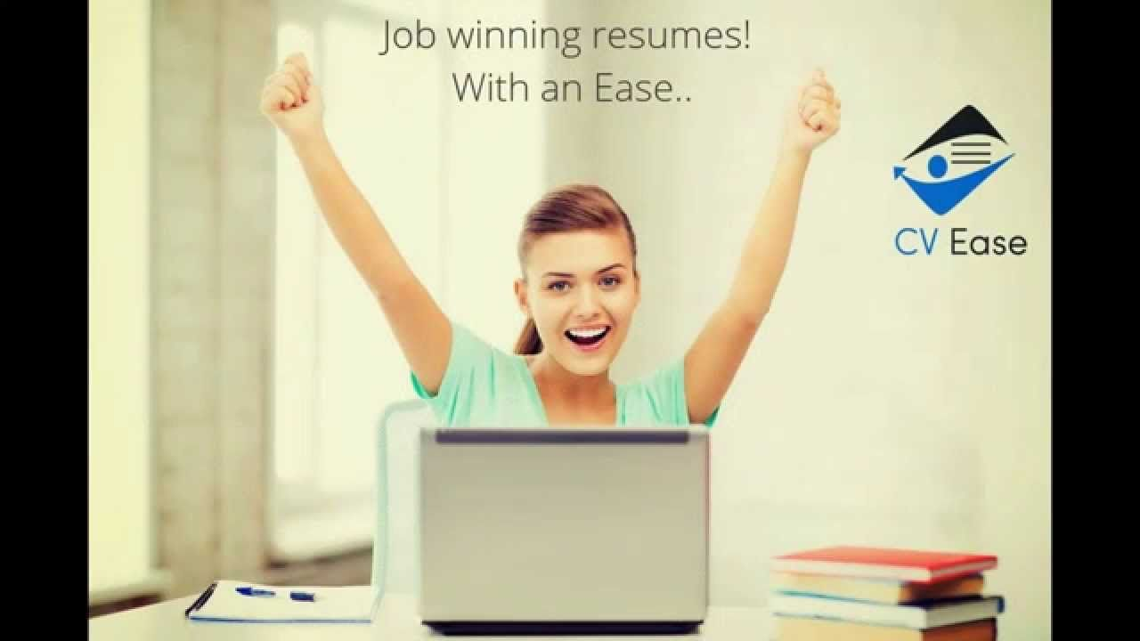 Resume builder cv ease create resume with an ease