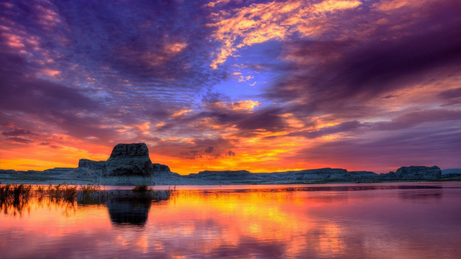 4k Sunset Wallpaper Sunset Landscape Sunset Wallpaper Landscape Photography
