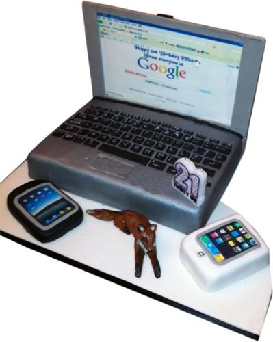 Cake Design Laptop : Novelty Cakes Novelty Laptop Cake Kimbos Cakes ...